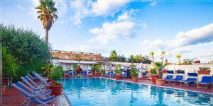 Piscina esterna Hotel Onda Blu Ischia