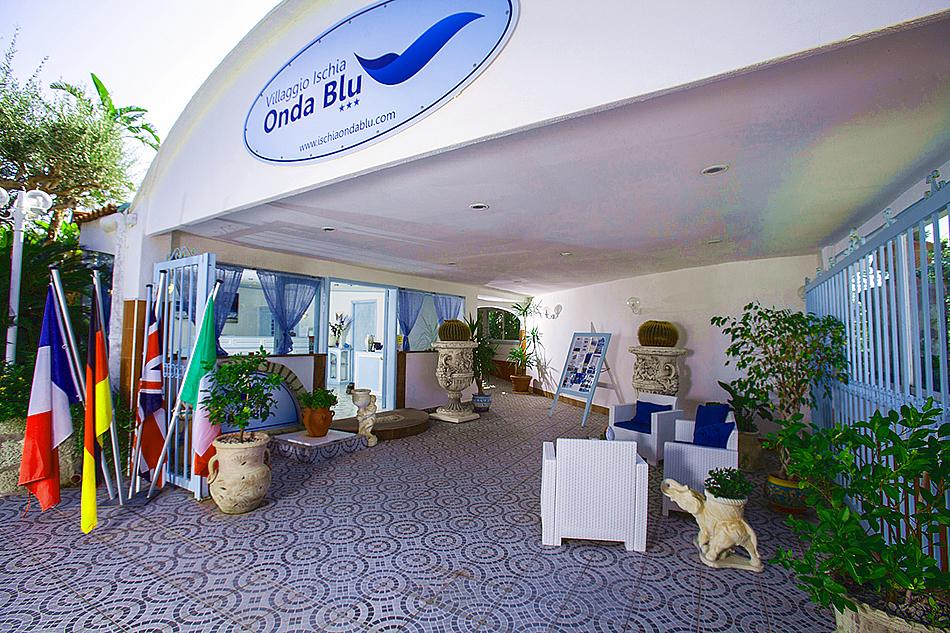 Arrivati all'Hotel Onda Blu