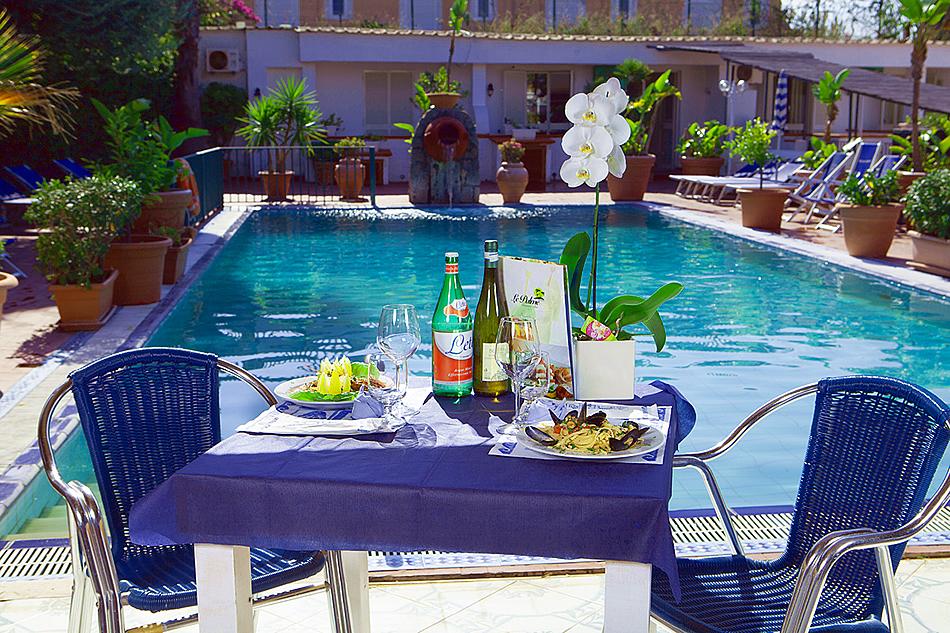 Snack Bar in piscina